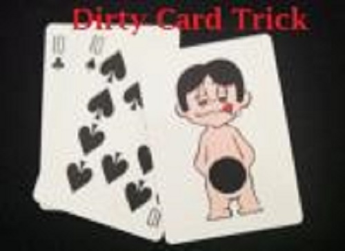 Dirty Card Trick Watch Video Madhatter Magic Shop